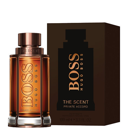 Boss The Scent Private Accord for Men by Hugo Boss EDT 3.3oz