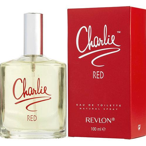Charlie Red for Women by Revlon Eau De Toilette Spray 3.4 oz