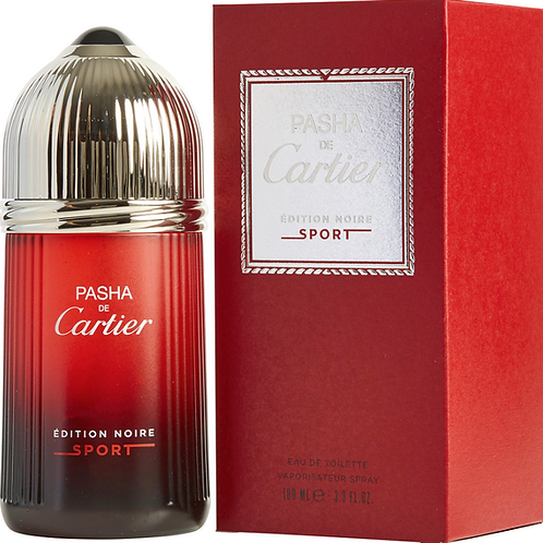Pasha de Cartier Edition Noire Sport for Men EDT 3.3oz