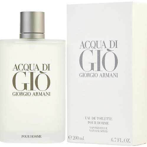 Acqua Di Gio for Men by Giorgio Armani EDT 6.7oz