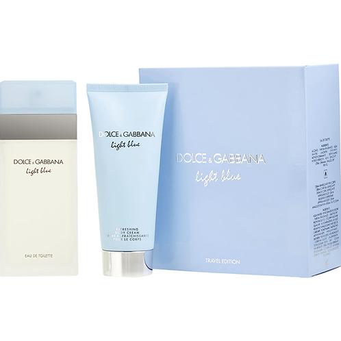 Dolce & Gabbana Light Blue for Women 2pc Gift Set Eau de Toilette