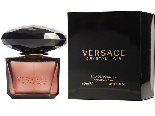 Versace Crystal Noir for Women by Versace Eau de Toilette 3 OZ