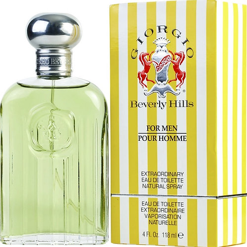 Giorgio Beverly Hills for Men Eau De Toilette Spray 4 oz