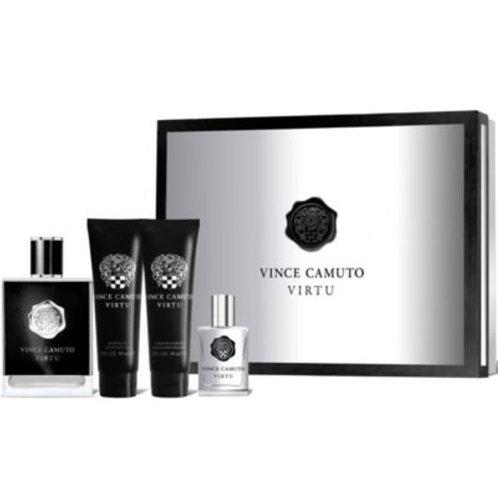Vince Camuto Virtu for Men 4pc Gift Set Eau de Toilette