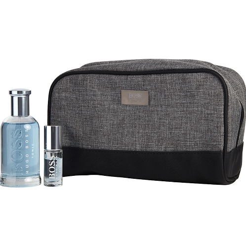 Hugo Boss Bottled Tonic 3pc Gift Set Eau de Toilette 3.3oz