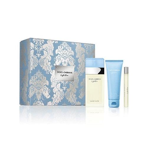 Dolce & Gabbana Light Blue for Women 3pc Gift Set Eau de Toilette