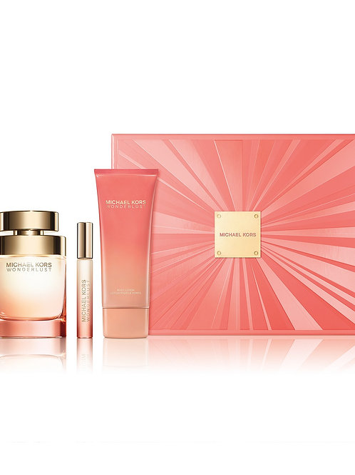 Michael Kors Wonderlust for Women 3pc Gift Set EDP