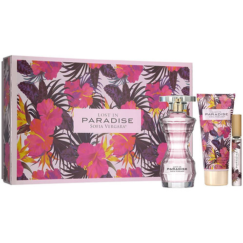 Lost in Paradise by Sofia Vergara 3pc Gift Set EDP