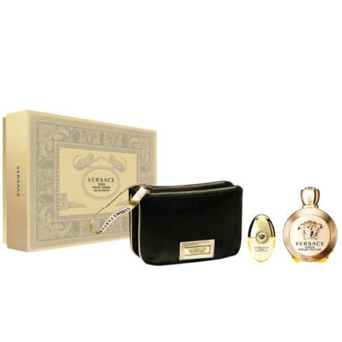 Versace Eros Pour Femme 3pc Gift Set Eau de Parfum