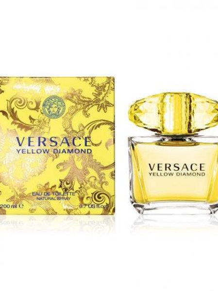 Versace Yellow Diamond Eau De Toilette Spray 6.7 oz