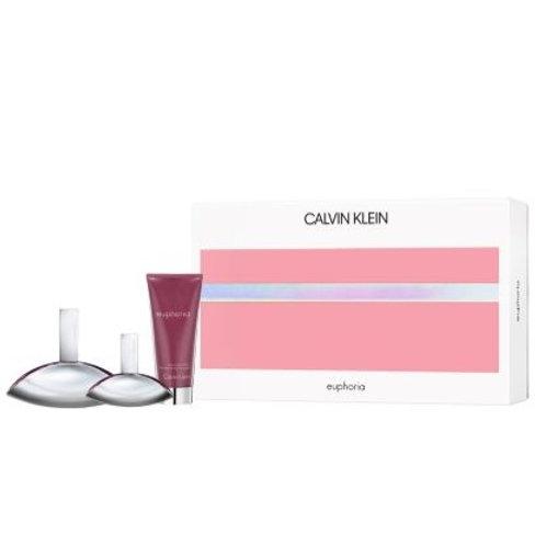 Euphoria by Calvin Klein 3pc Gift Set Eau de Parfum