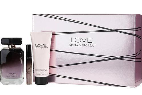 Love by Sofia Vergara 3 Piece Gift Set EDP