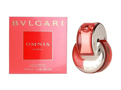 Bvlgari Omnia Coral for Women by Bvlgari Eau de Toilette 2.2 OZ