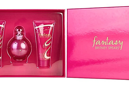 Fantasy for Women by Britney Spears 3pc Gift Set EDP