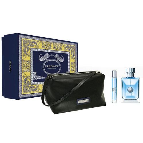 Versace Signature Pour Homme 3pc Gift Set Eau de Toilette