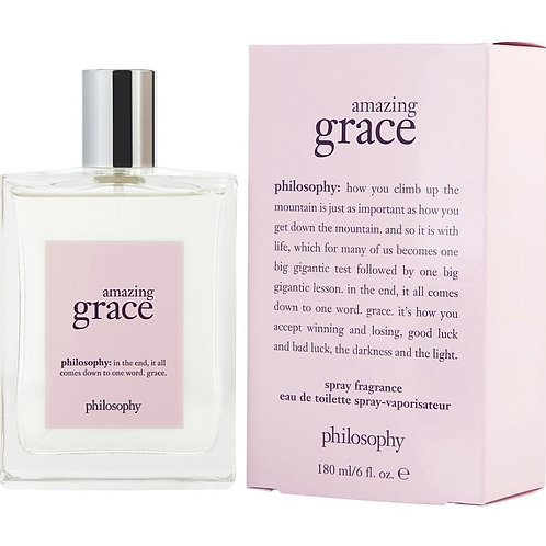 Philosophy Amazing Grace Eau De Toilette Spray 6 oz