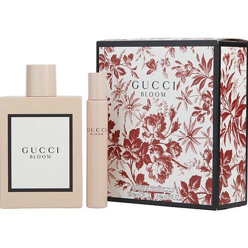 Gucci Bloom for Women by Gucci 2pc Gift Set Eau De Parfum Spray