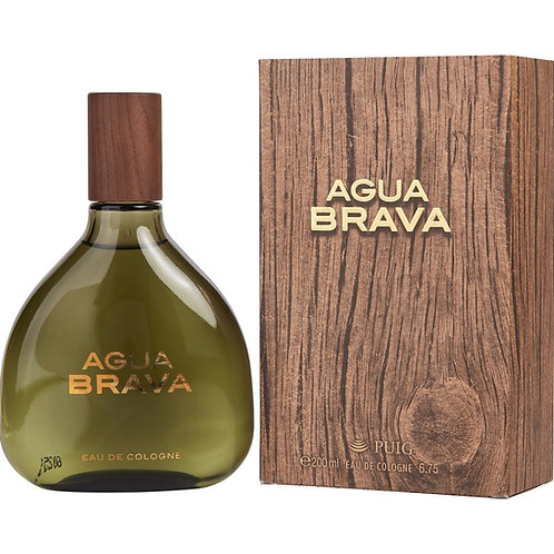 Agua Brava by Antonio Puig for Men Eau De Cologne 6.7 oz
