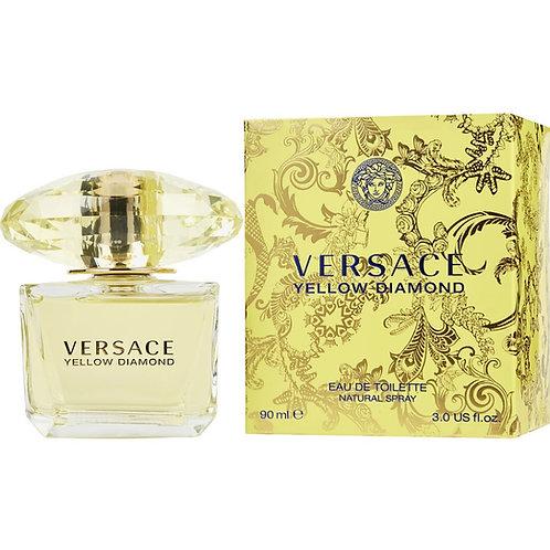 Versace Yellow Diamond Eau De Toilette Spray 3 oz