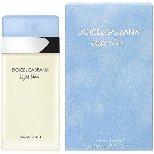 Dolce Gabbana Light Blue for Women EDT 6.7oz