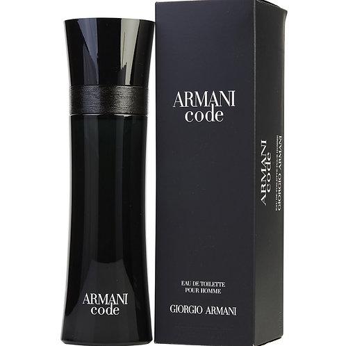 Armani Code for Men by Giorgio Armani Eau De Toilette 4.2 OZ