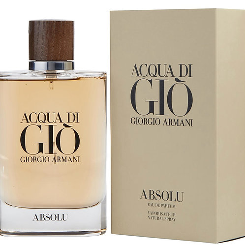 Acqua Di Gio Absolu for Men by Giorgio Armani EDP 4.2oz