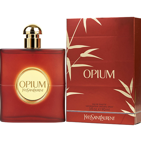 Opium by Yves Saint Laurent Eau de Toilette 3oz