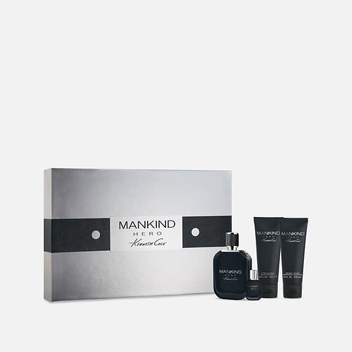 Kenneth Cole Mankind Hero 4pc Gift Set EDT