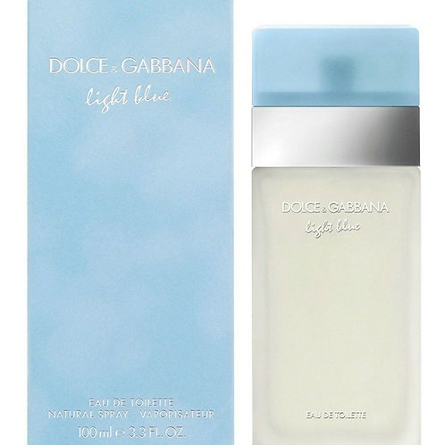 Dolce & Gabbana Light Blue for Women EDT 3.3oz