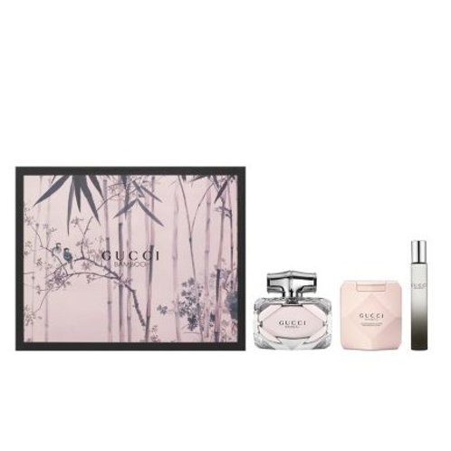 Gucci Bamboo 3pc Gift Set EDP 2.5oz