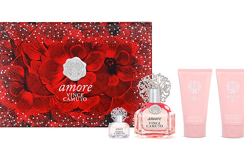Vince Camuto Amore for Women 4pc Gift Set EDP