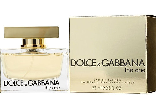 The One by Dolce & Gabbana for Women Eau de Parfum 2.5oz