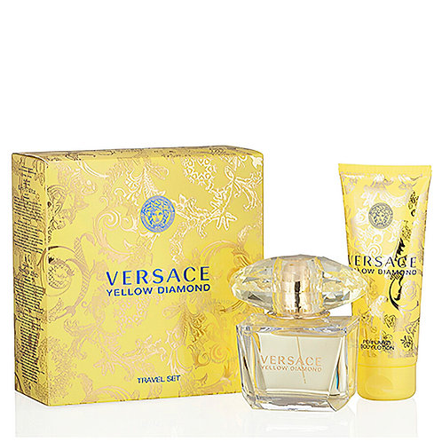 Versace Yellow Diamond for Women 2pc Travel Set EDT