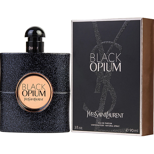 Black Opium by Yves Saint Laurent Eau de Parfum 3oz