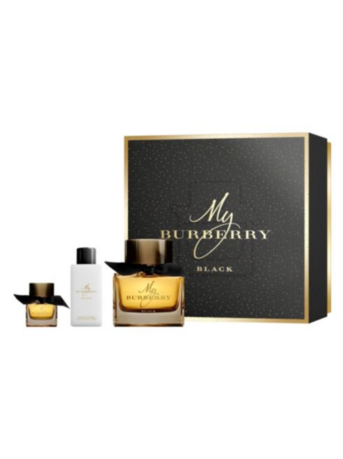 My Burberry Black for Women 3pc Gift Set by Burberry EDP 3oz