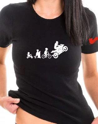 Damen T-Shirt Evolution 2