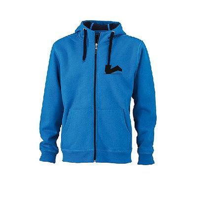 Der Legendäre Zipper außenhell blau innen dunkel blau