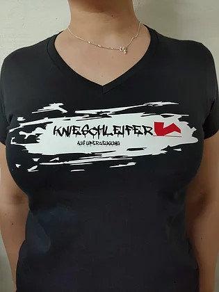 Knieschleifer T-Shirt - Splash-Design
