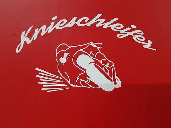 Knieschleifer-Aufkleber für dein Auto