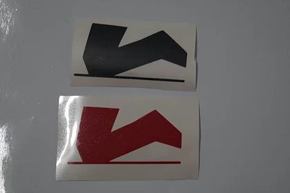 Aufkleber - Knieschleifer-Logo