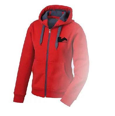 Der Legendäre Zipper aussen rot innen grau