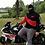 Thumbnail: Ninjahoodie schwarz/rot aus sehr dickem Stoff. Eines der coolsten Teile im Shop
