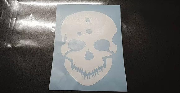 1xAmok Schädel in allen Farben 18 hoch x14 cm