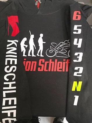 Evolution Schleifer Hoodie . Zeig den Leuten wie dein Hobby aussieht