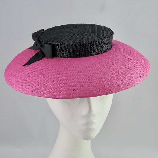 Pink and Black Brim