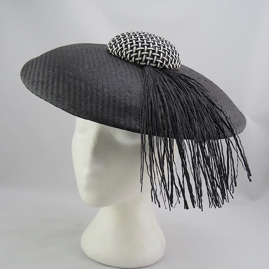 Hello There! - Black and White Dior Brim