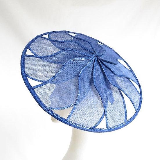 Blue Starburst - Blue Geometric Hat
