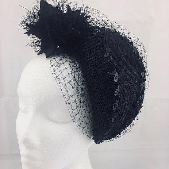 Blackest Night - Black Veil Headpiece