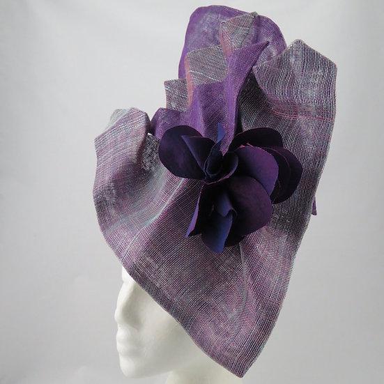 Aeronautical Amethyst - Purple Headpiece