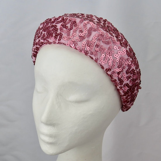 Pink Lemonade - Pink Sequinned Headband